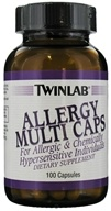 Twinlab - Allergy Multi Caps - 100 Capsules, from category: Vitamins & Minerals