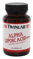 Image of Twinlab - Alpha Lipoic Acid 100 mg. - 60 Capsules