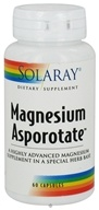 Solaray - Magnesium Asporotate - 60 Capsules, from category: Vitamins & Minerals