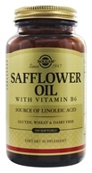 Solgar - Safflower Oil - 100 Softgels (033984024809)
