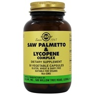 Solgar - Saw Palmetto Pygeum Lycopene Complex - 50 Vegetarian Capsules, from category: Herbs