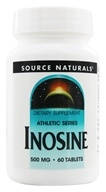 Source Naturals - Inosine 500 mg. - 60 Tablets by Source Naturals