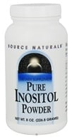 Source Naturals - Pure Inositol Powder 845 mg. - 8 oz.