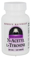 Source Naturals - N-Acetyl L-Tyrosine 300 mg. - 120 Tablets, from category: Nutritional Supplements