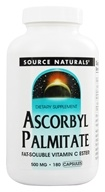 Source Naturals - Ascorbyl Palmitate Fat-Soluble Vitamin C Ester 500 mg. - 180 Capsules