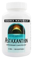 Source Naturals - Astaxanthin 2 mg. - 120 Softgels