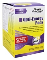 Super Nutrition - Opti-Energy Pack - 30 Packet(s) formerly Opti-Pack by Super Nutrition