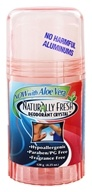 Image of Naturally Fresh - Deodorant Crystal Peach Twist Up Stick with Aloe Vera - 4.25 oz.