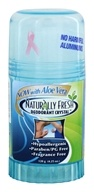 Naturally Fresh - Deodorant Crystal Blue Twist Up Stick with Aloe Vera - 4.25 oz.