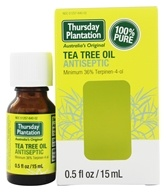 Thursday Plantation - Tea Tree Oil Antiseptic 100% Pure - 0.5 oz., from category: Aromatherapy