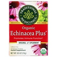 Image of Traditional Medicinals - Organic Echinacea Plus Tea - 16 Tea Bags