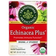 Traditional Medicinals - Organic Echinacea Plus Tea - Supports the Immune System* - 16 Tea Bags