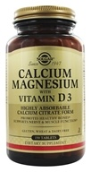 Image of Solgar - Calcium Magnesium with Vitamin D3 - 150 Tablets