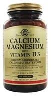 Solgar - Calcium Magnesium with Vitamin D3 - 150 Tablets