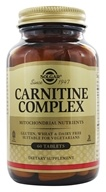 Image of Solgar - Carnitine Complex - 60 Tablets