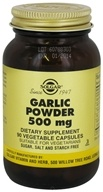 Solgar - Garlic Powder 500 mg. - 90 Vegetarian Capsules - $12.60