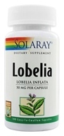 Solaray - Lobelia 50 mg. - 100 Capsules (076280013757)
