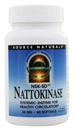 Image of Source Naturals - Nattokinase 36 mg. - 60 Softgels