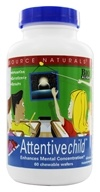 Source Naturals - Attentive Child Sweet & Tart - 60 Chewable Wafers (021078012146)