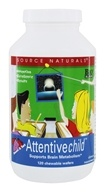 Atento niño dulce y tarta - 120 Chewable Wafers by Source Naturals