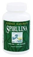 Source Naturals - Spirulina 500 mg. - 100 Tablets, from category: Nutritional Supplements