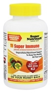 Super Nutrition - Super Immune MultiVitamin - 120 Vegetarian Tablets formerly Super Blend (033739001864)