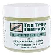 Tea Tree Therapy - Eucalyptus Chest Rub - 2 oz., from category: Personal Care