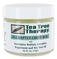 Image of Tea Tree Therapy - Eucalyptus Chest Rub - 2 oz.