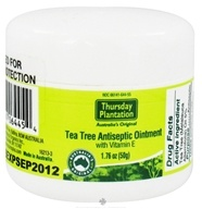 Thursday Plantation - Tea Tree Ointment and Vitamin E - 1.76 oz. (717554080562)
