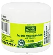 Image of Thursday Plantation - Tea Tree Ointment and Vitamin E - 1.76 oz.