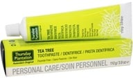 Thursday Plantation - Tea Tree Toothpaste Flouride Free - 3.9 oz.