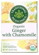 Traditional Medicinals - Organic Golden Ginger Tea - 16 Tea Bags