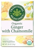 Image of Traditional Medicinals - Organic Golden Ginger Tea - 16 Tea Bags