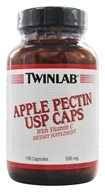 Image of Twinlab - Apple Pectin USP Caps With Vitamin C 500 mg. - 100 Capsules