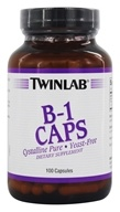 Twinlab - B-1 Caps 500 mg. - 100 Capsules, from category: Vitamins & Minerals