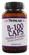 Twinlab - B-100 Caps Vitamin B-Complex - 100 Capsules, from category: Vitamins & Minerals