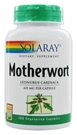 Solaray - Motherwort 425 mg. - 100 Vegetarian Capsules - $8.85