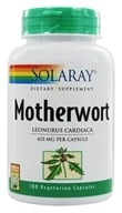 Solaray - Motherwort 425 mg. - 100 Vegetarian Capsules