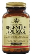 Image of Solgar - Selenium 200 mcg. - 250 Tablets Formerly Seleno 6