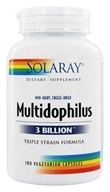 Image of Solaray - Multidophilus 3 Billion Triple Strain Formula - 180 Capsules