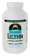 Source Naturals - Lecithin 1200 mg. - 200 Softgels