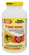 Super Nutrition - Super Immune MultiVitamin Iron Free - 240 Vegetarian Tablets
