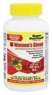 Super Nutrition - Women's Blend - 180 Vegetarian Tablets
