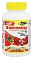 Super Nutrition - Women's Blend - 180 Vegetarian Tablets by Super Nutrition