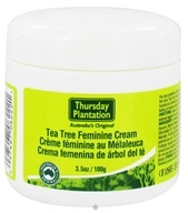 Thursday Plantation - Tea Tree Feminine Cream - 3.5 oz. (717554080937)