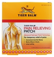 Tiger Balm - Pain Relieving Patch - 5 Patch(es) (039278322002)