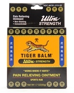 Tiger Balm - Ultra Strength Pain Relieving Ointment - 1.7 oz.