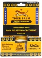 Tiger Balm - Ultra Strength Pain Relieving Ointment - 0.63 oz. (039278315103)