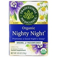 Traditional Medicinals - Organic Nighty Night Tea - 16 Tea Bags (032917000323)
