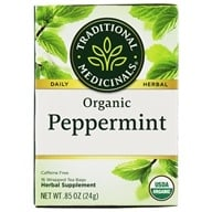 Image of Traditional Medicinals - Organic Peppermint Tea - 16 Tea Bags